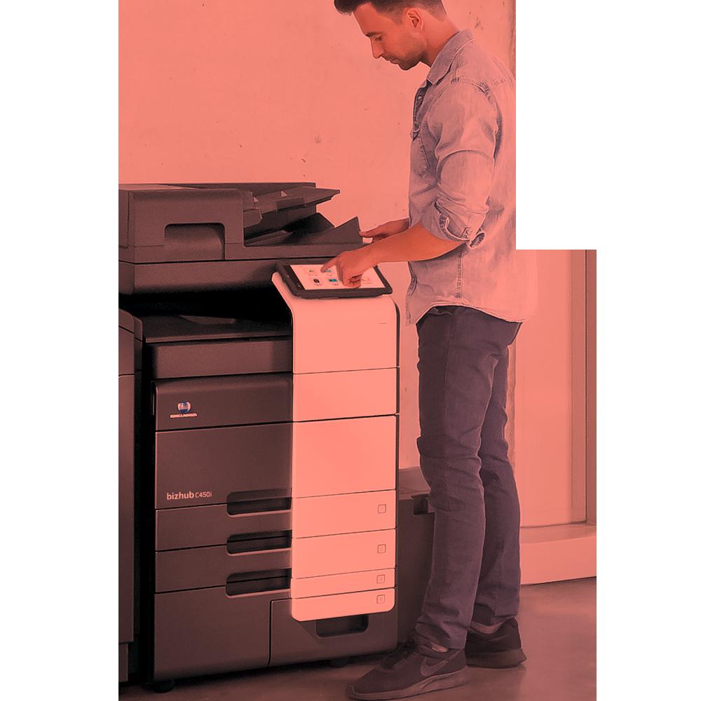 Kramm Büro-Systeme – Einrichtung Step 1
