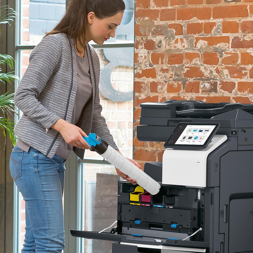 Kramm Büro-Systeme – Laserdrucker Tonerwechsel