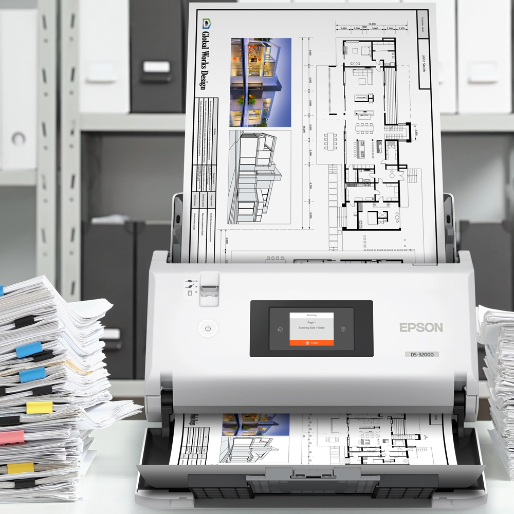 Kramm Büro-Systeme – Epson Scanner